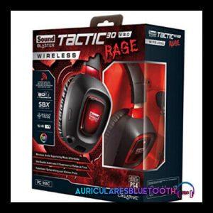 creative blaster tactic3d rage wireless v2.0 review y analisis de los auriculares