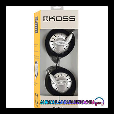 koss ksc75 opinion y conclusion del auricular