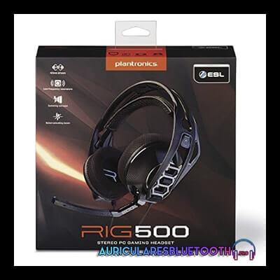plantronics rig 500hs review y analisis de los auriculares