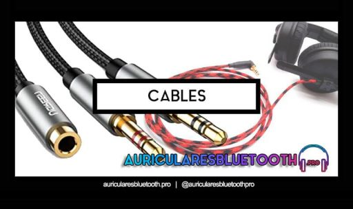 cables para auriculares
